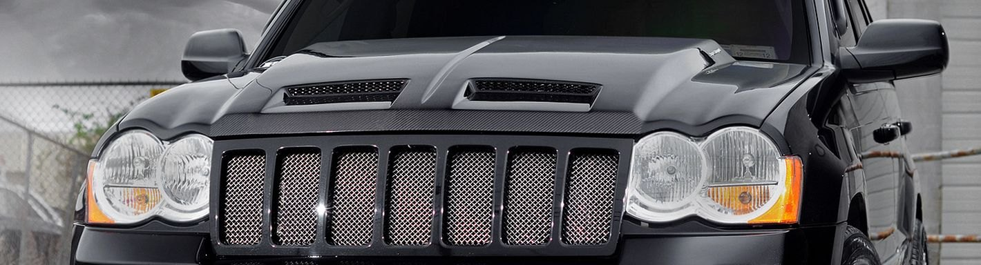 GRILL WITH PICTURE FRAMES PAINTED JEEP GRAND CHEROKEE 05/>