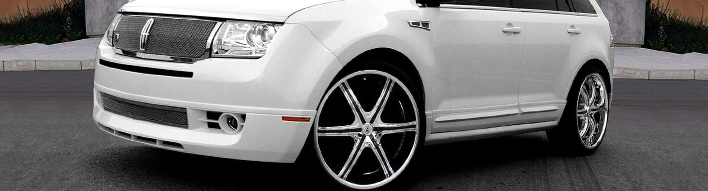 Lincoln mkx rims custom wheels for Garage skoda versailles