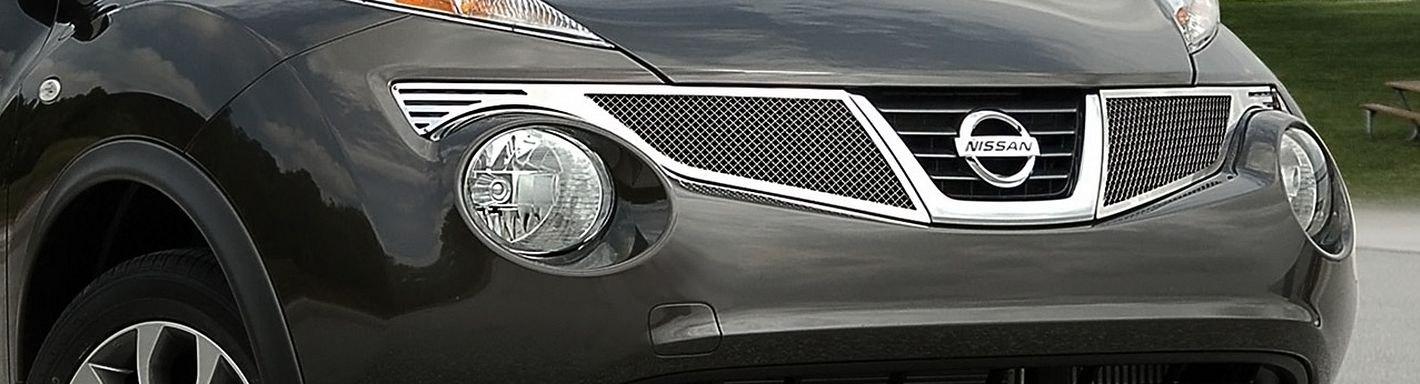2013 Nissan Juke Custom Grilles Billet Mesh Led Chrome Black