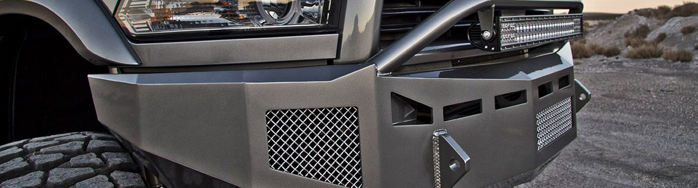Chevy Custom 4x4 Off-Road Steel Bumpers – CARiD com