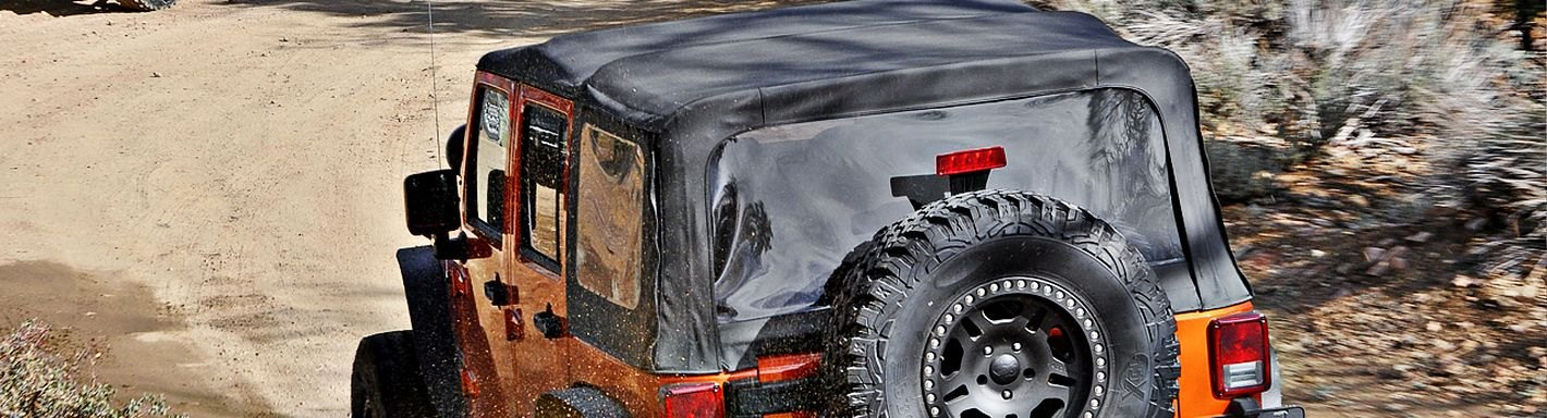 Jeep CJ Soft Tops & Hard Tops - 1977
