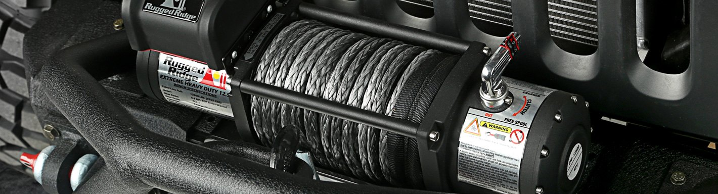 Jeep J-Series Winches
