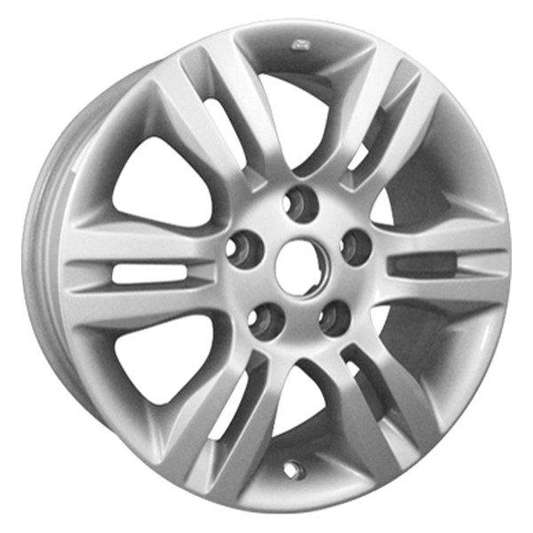 cci nissan altima coupe 2010 2013 16 remanufactured 6 split spokes factory alloy wheel. Black Bedroom Furniture Sets. Home Design Ideas
