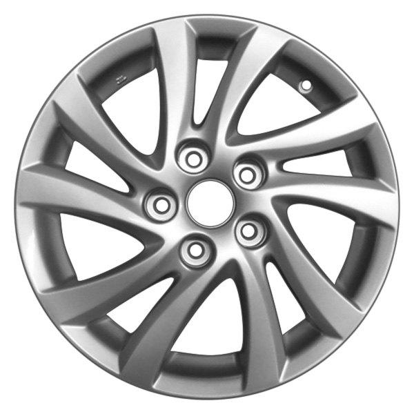 """CCI® - Mazda 3 2014 16"""" Remanufactured 10 Spokes Factory ... 2014 Mazda 3 Wheel Specs"""