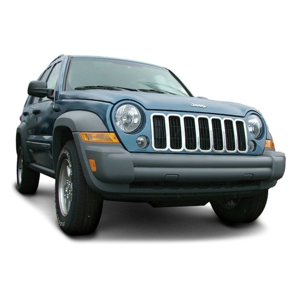 2002 Jeep Liberty Exterior: Jeep Liberty 2002-2004 Chrome Grille Skin