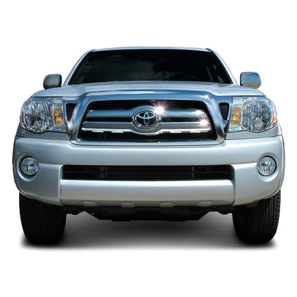 cci iwcgi26 toyota tacoma 2005 2009 chrome grille skin. Black Bedroom Furniture Sets. Home Design Ideas