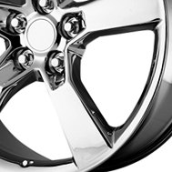 CCI Chrome Factory Wheel