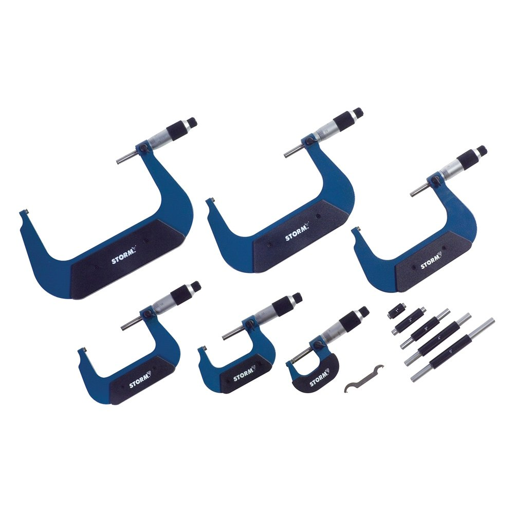 Image Of Meter 96308 Tool Central : Central tools m import outside micrometer set