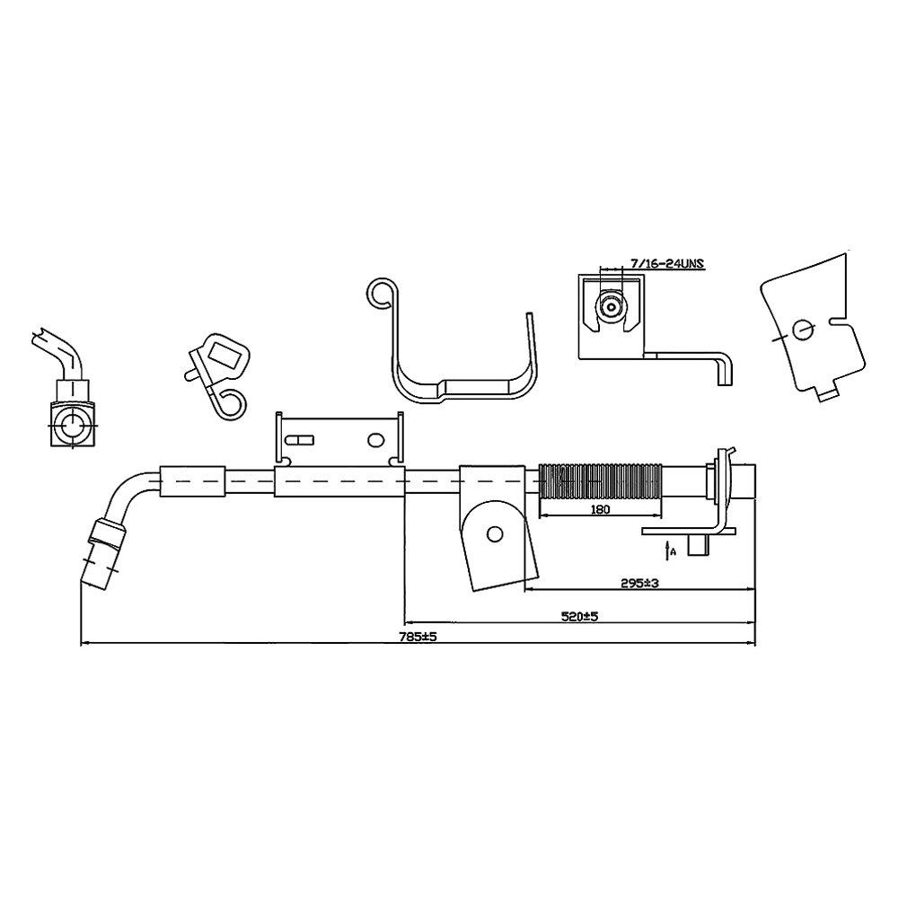 Hummer H2 Brake Line Diagram : Service manual hummer h parking brake repair