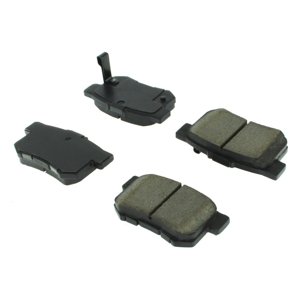 centric acura tl 2004 2008 premium semi metallic brake pads. Black Bedroom Furniture Sets. Home Design Ideas