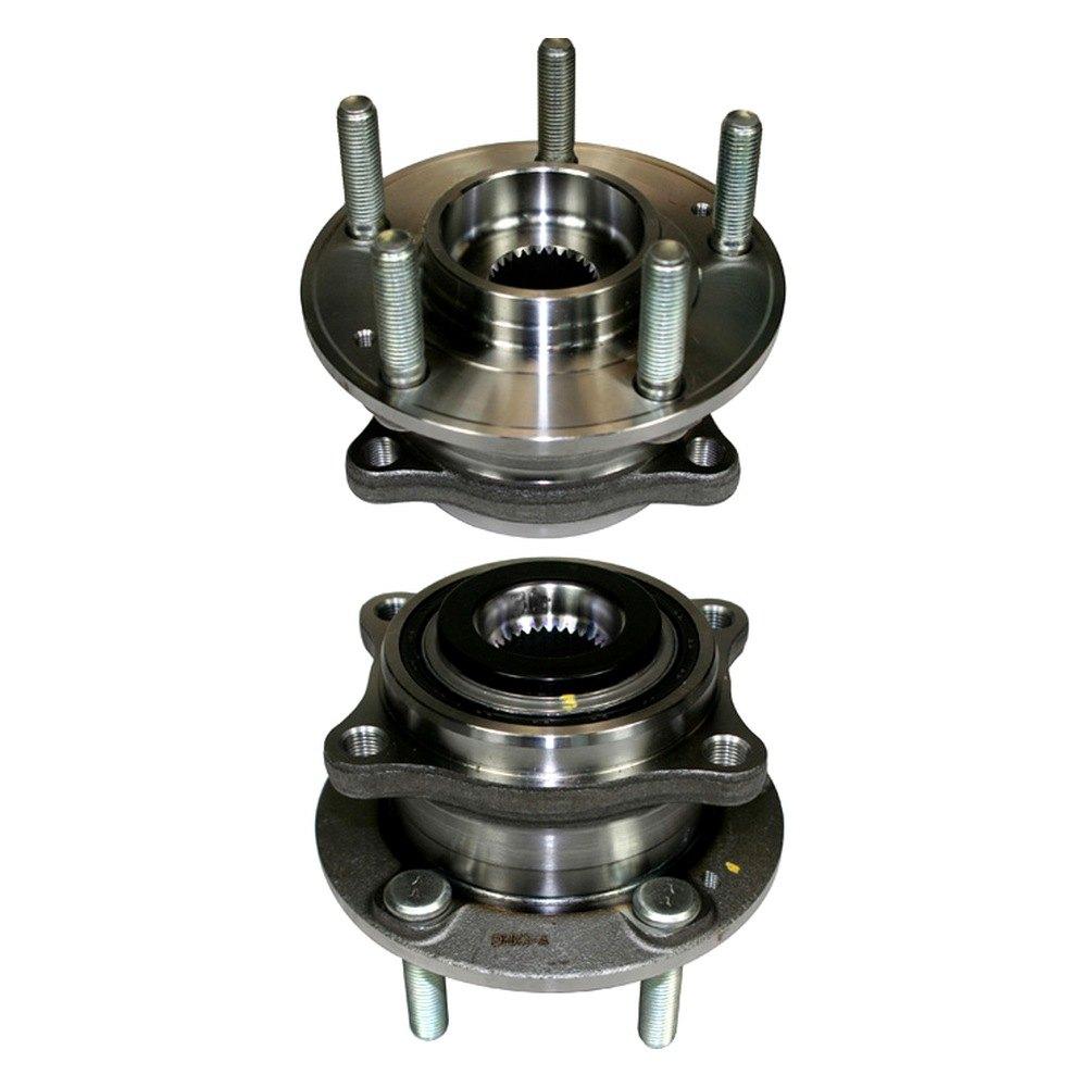 Center Axle Hub : Centric hyundai santa fe premium™ axle bearing and