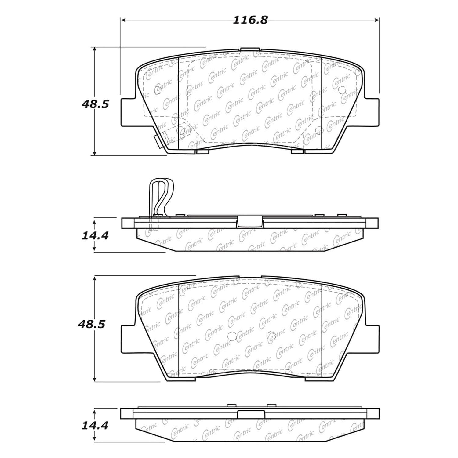 For Ford Ranger 1983-1992 Replace RRP8203 Driver Side Truck Cab Corner
