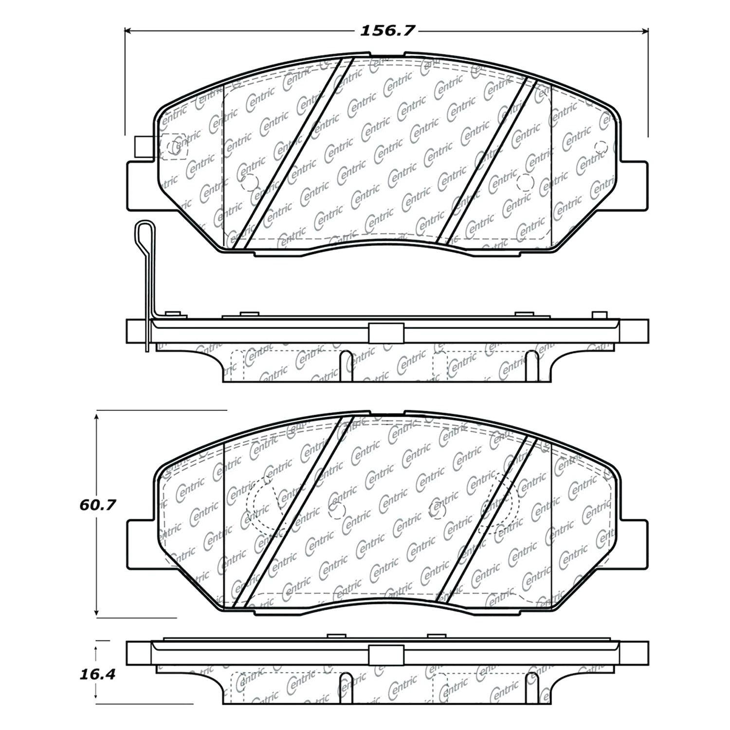 Oldsmobile Cutlass /& F85 4 Dr Sedan w//o Quarters Attached to HDL Acme Auto Headlining 66-1226A-TIE1514 Silver Blue Replacement Headliner