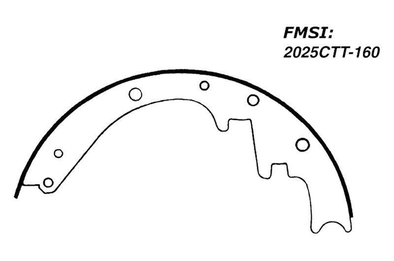 centric 111 01600 premium front drum brake shoes 1962 Pontiac Star Chief centric premium front drum brake