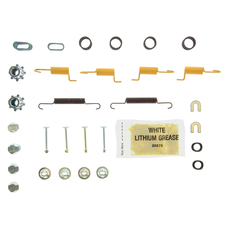 Drum Brake Hardware Kit Rear Centric 118.63012