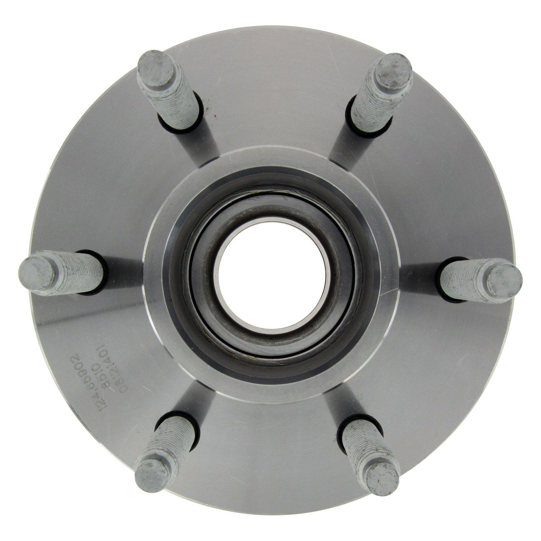 Disc Brake Hub-RWD Front Centric 124.65902