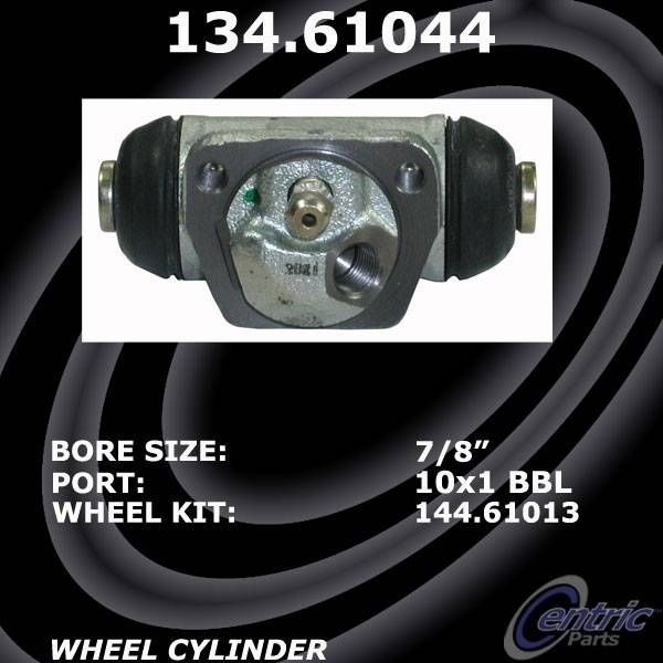 135.61044 Centric Wheel Cylinder Rear New for Mercury Cougar Ford Contour 95-00