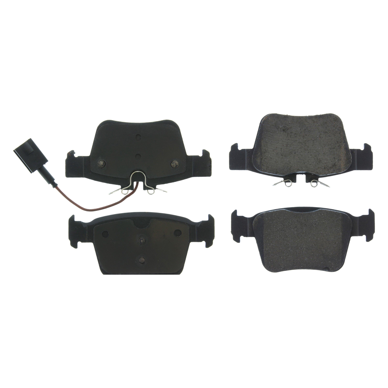 Disc Brake Pad Set-Premium Ceramic Pads with Shims Rear Centric 301.19890