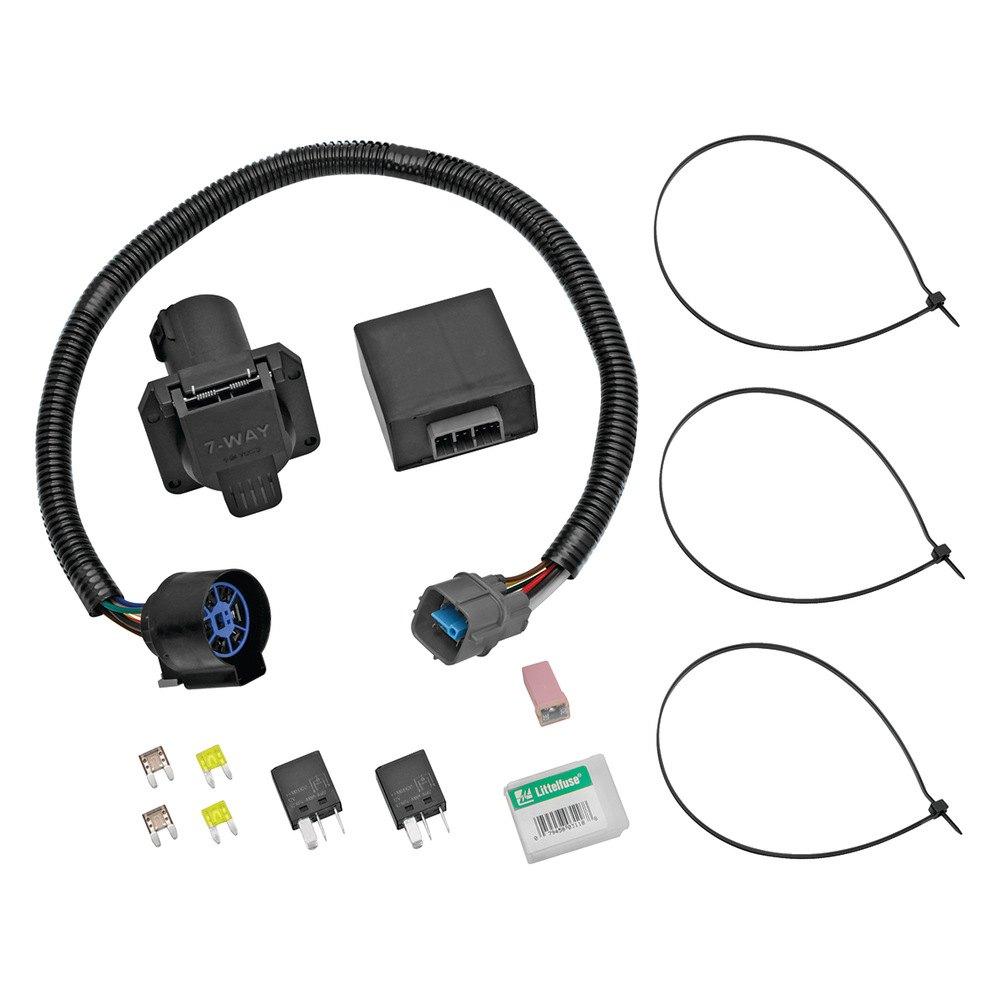 tekonsha honda ridgeline 2009 2014 towing wiring harness. Black Bedroom Furniture Sets. Home Design Ideas