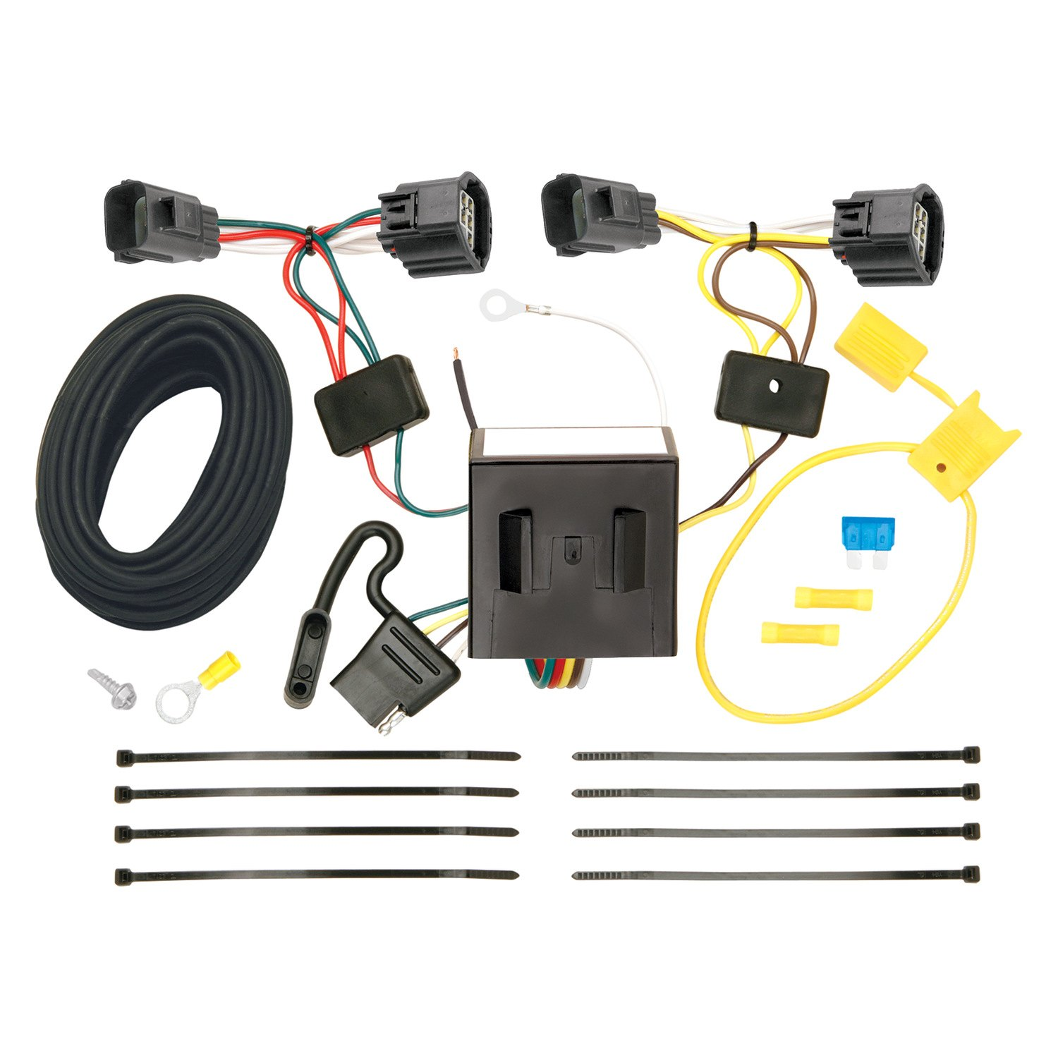 Wiring Harness For Trailer Diagram : Trailer hitches wiring harness get free image