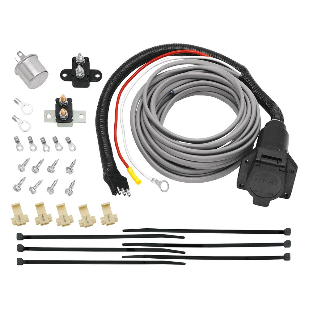 Tow Ready Trailer Wiring Diagram Opinions About Gm 7 Pin U00ae 118607 Way Flat Connector With Brake Control And Hardware Controller Plug