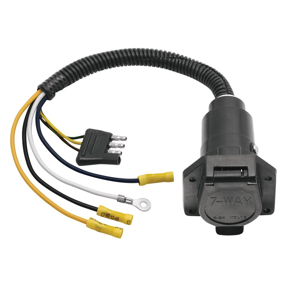 Tow Ready Trailer Wiring Diagram Opinions About Gm Connector U00ae 20321 4 Flat To 7 Way Pin Adapter Plug