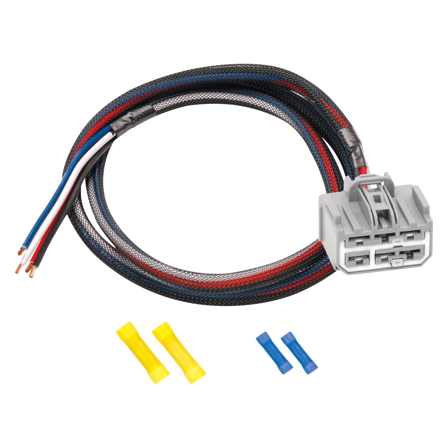 Gm Trailer Plug Wiring Harness Diagrams Chevrolet Traverse Diagram Tekonsha U00ae Chevy With Factory 7 Way 2009 2017 Radio 2500hd