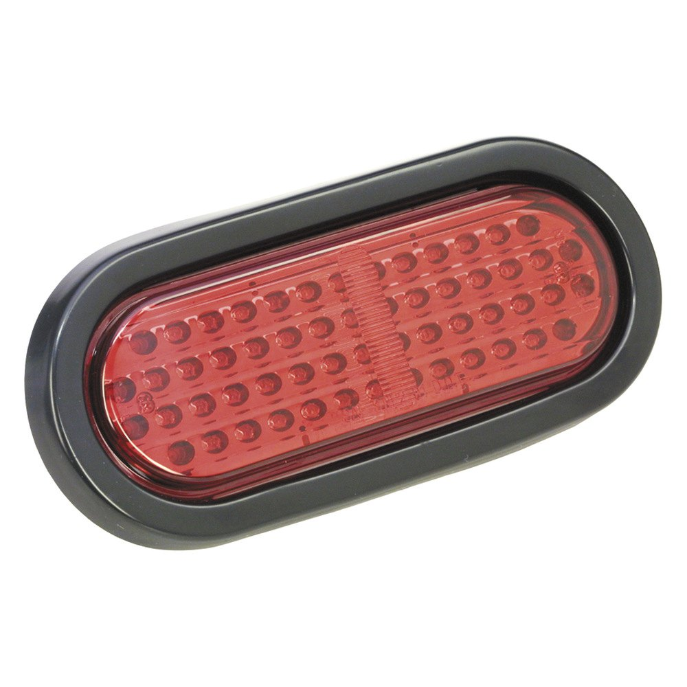 Bargman 174 47 06 404 Red Oval Led Stop Tail Turn Light