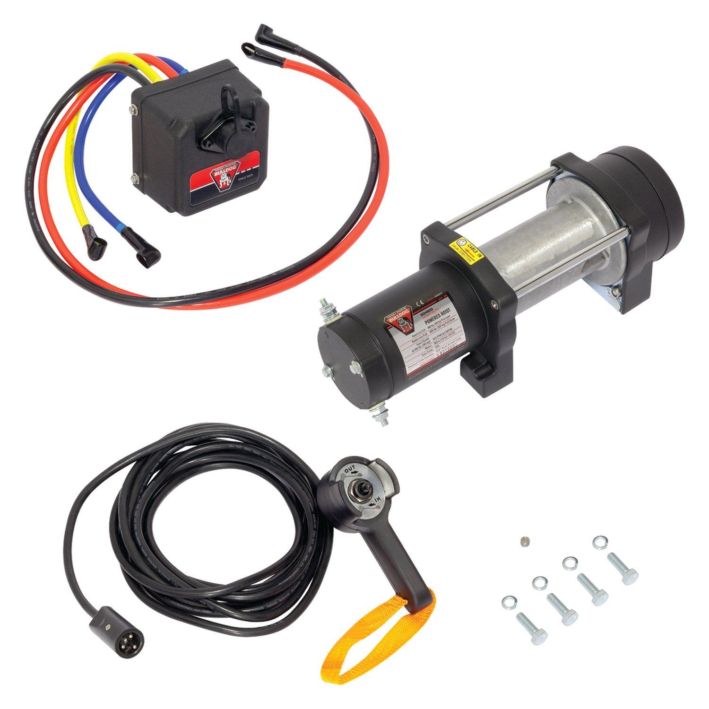 Bulldog 174 500411 Dc 800 Lbs Electric Hoist Winch W O Rope