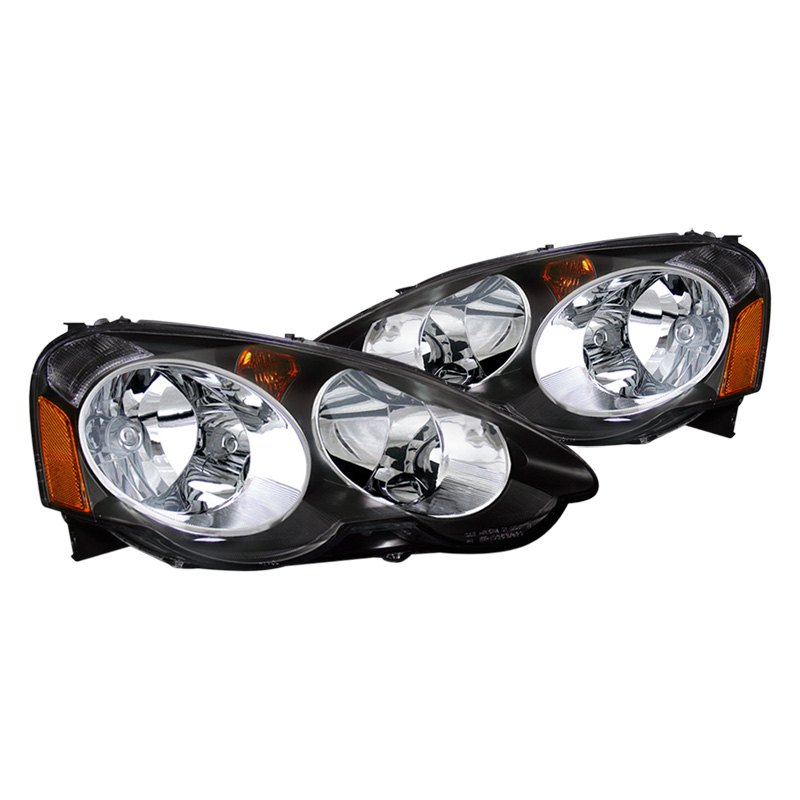 Acura RSX 2002 Black Euro Headlights