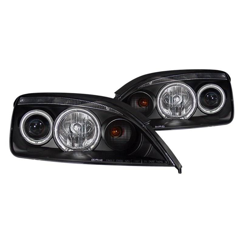 For Ford Focus 05-06 CG Black CCFL Halo Projector