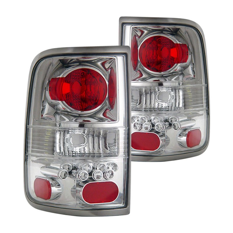 cg 03 ff2004tlac ford f 150 2006 chrome euro led tail lights. Black Bedroom Furniture Sets. Home Design Ideas