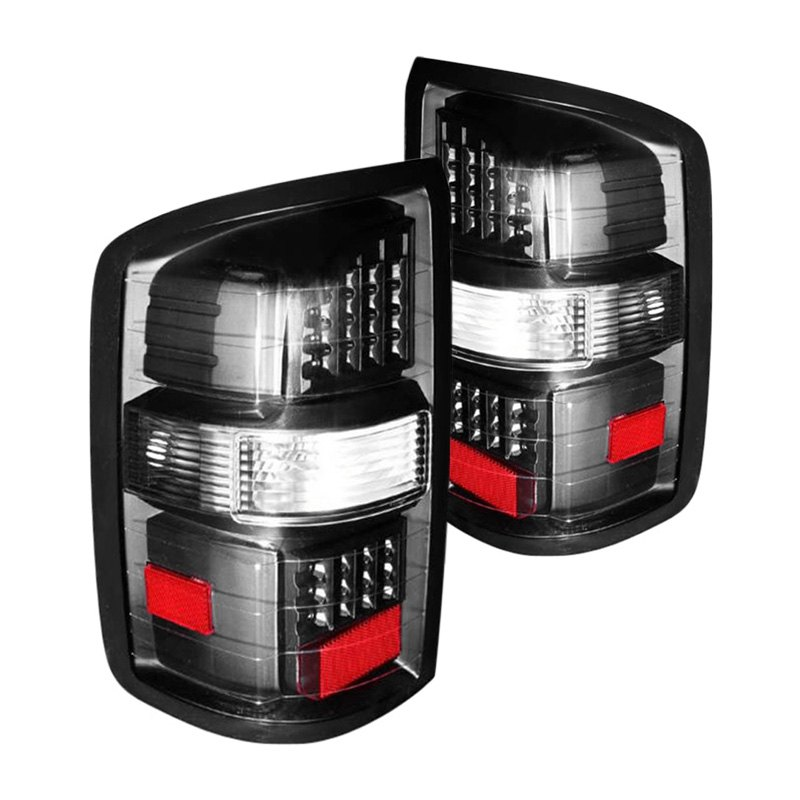 cg 03 gs14tledjm gmc sierra 2015 black led tail lights. Black Bedroom Furniture Sets. Home Design Ideas