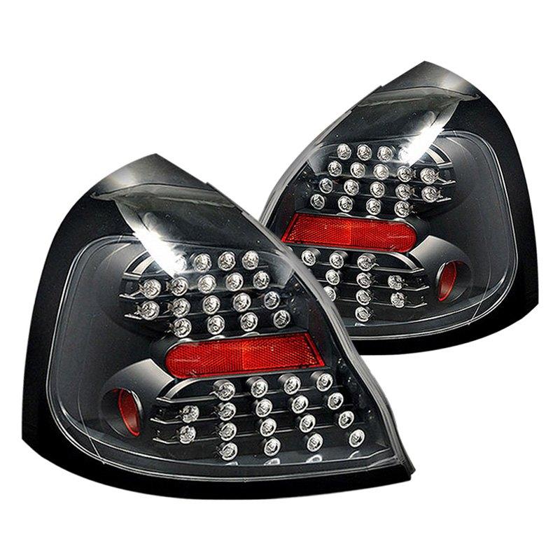cg 03 pp04tledjm pontiac grand prix 2004 black led tail lights. Black Bedroom Furniture Sets. Home Design Ideas