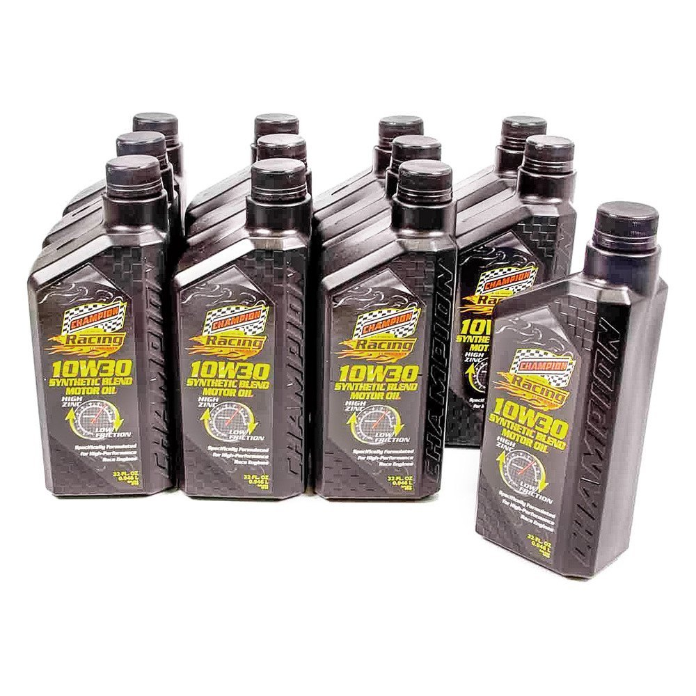 Champion Brands 4104h 12 Sae 10w 30 Synthetic Blend