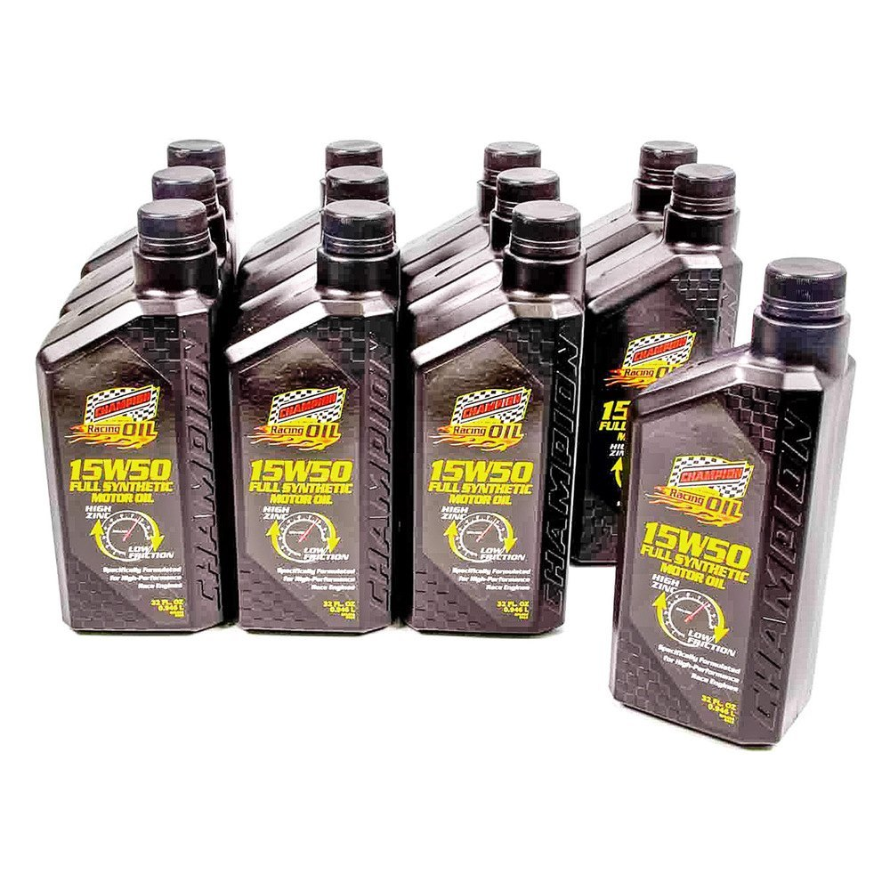 Champion brands full synthetic racing motor oil for Racing motor oil brands