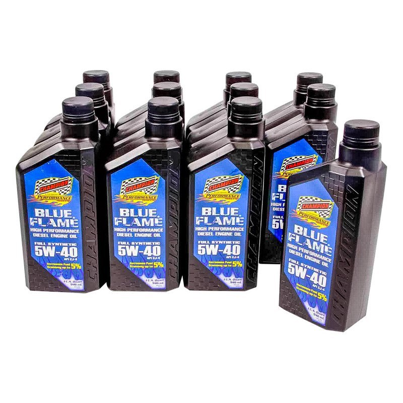 Champion Brands Blue Flame Synthetic Diesel Motor Oil