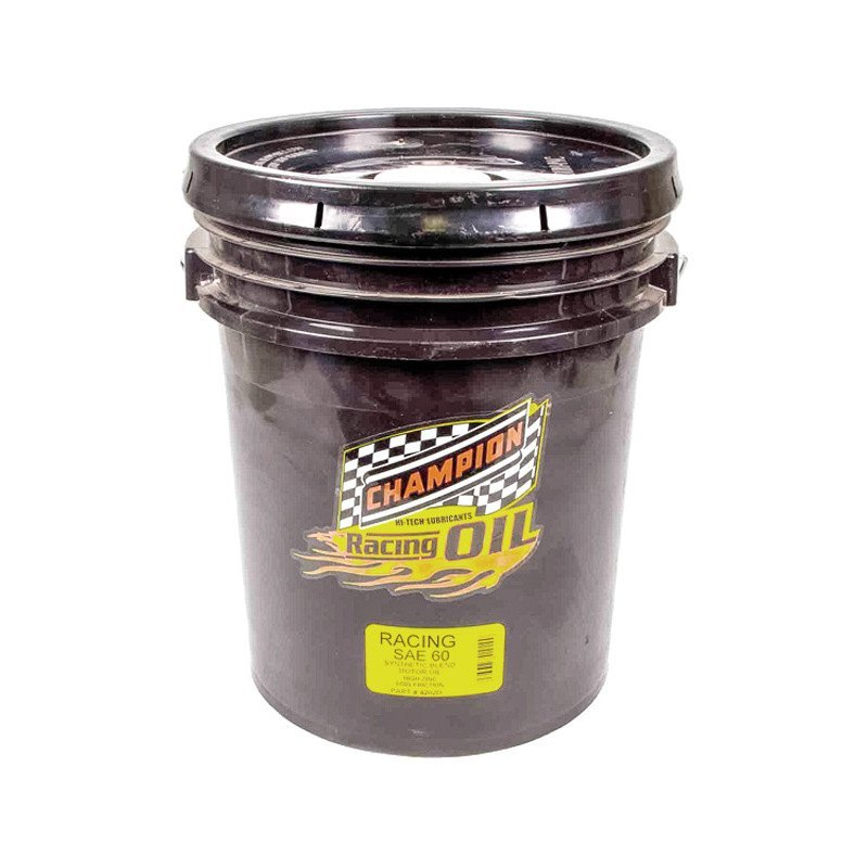 Champion Brands 4202d Sae 60 Synthetic Blend Racing Motor Oil 5 Gallons