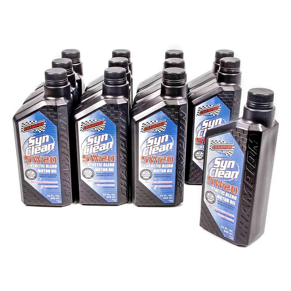 Champion Brands Synclean Synthetic Blend Motor Oil Sn Gf 5