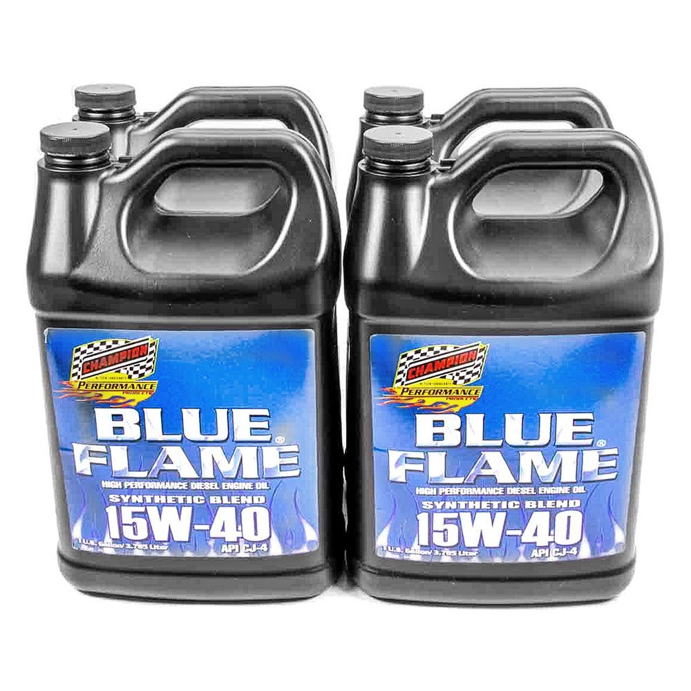 Champion Brands 4358n Sae 15w 40 Blue Flame Synthetic