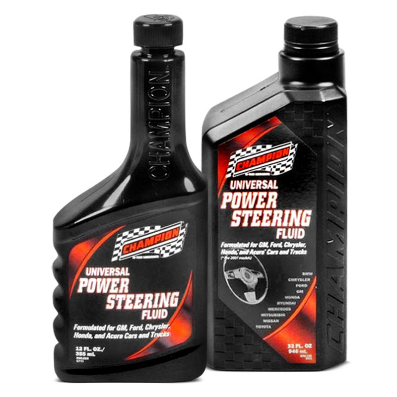 how to add power steering fluid