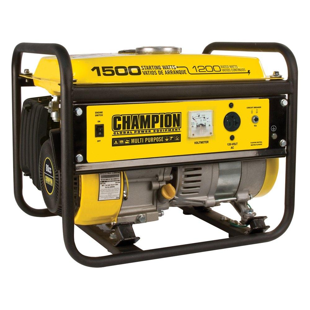 Champion Fulfillment® 42436 - Portable Generator 800cc ...