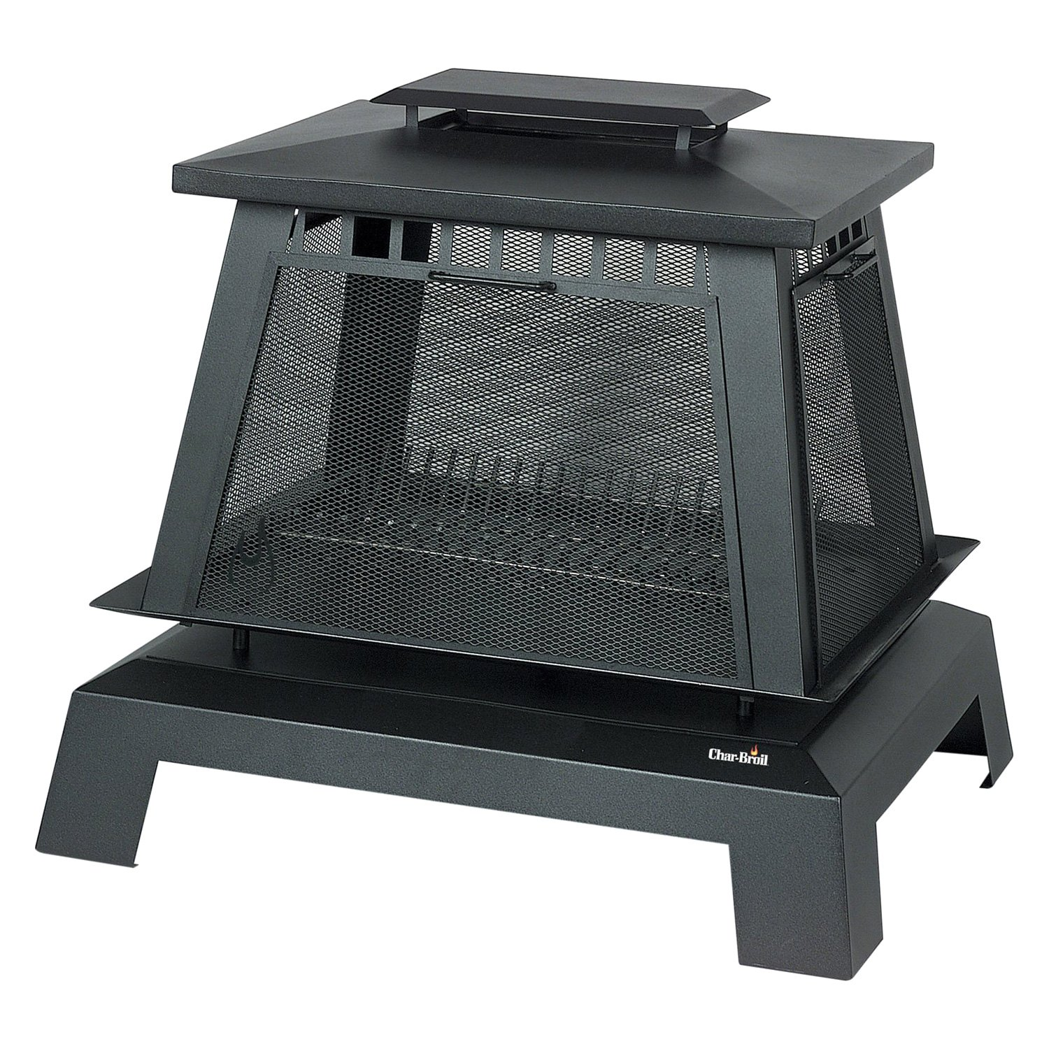 Outdoor Chimney Parts : Char broil trentino deluxe outdoor fireplace