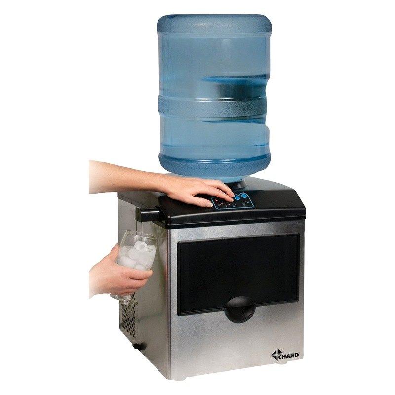 Chard im15ss large ice maker Ice maker maker