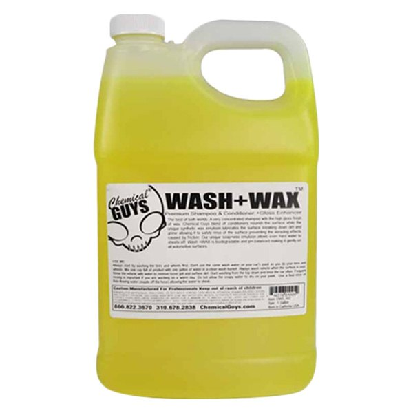 chemical guys cws 102 wash and wax gloss car shampoo. Black Bedroom Furniture Sets. Home Design Ideas