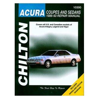 For Acura Integra 1986-1993 Chilton Acura Coupes & Sedans