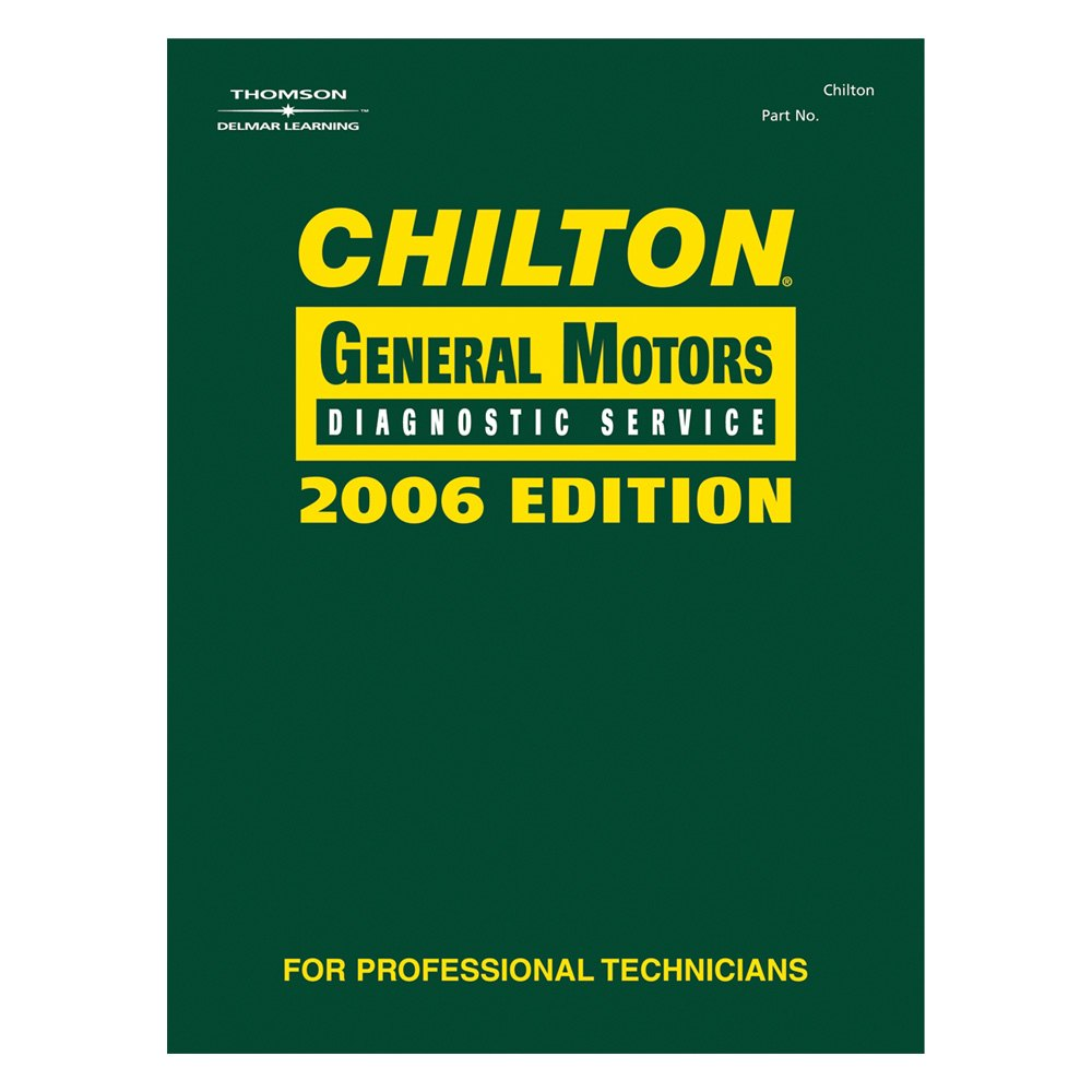 Chilton 132120 General Motors Diagnostic Service Manual