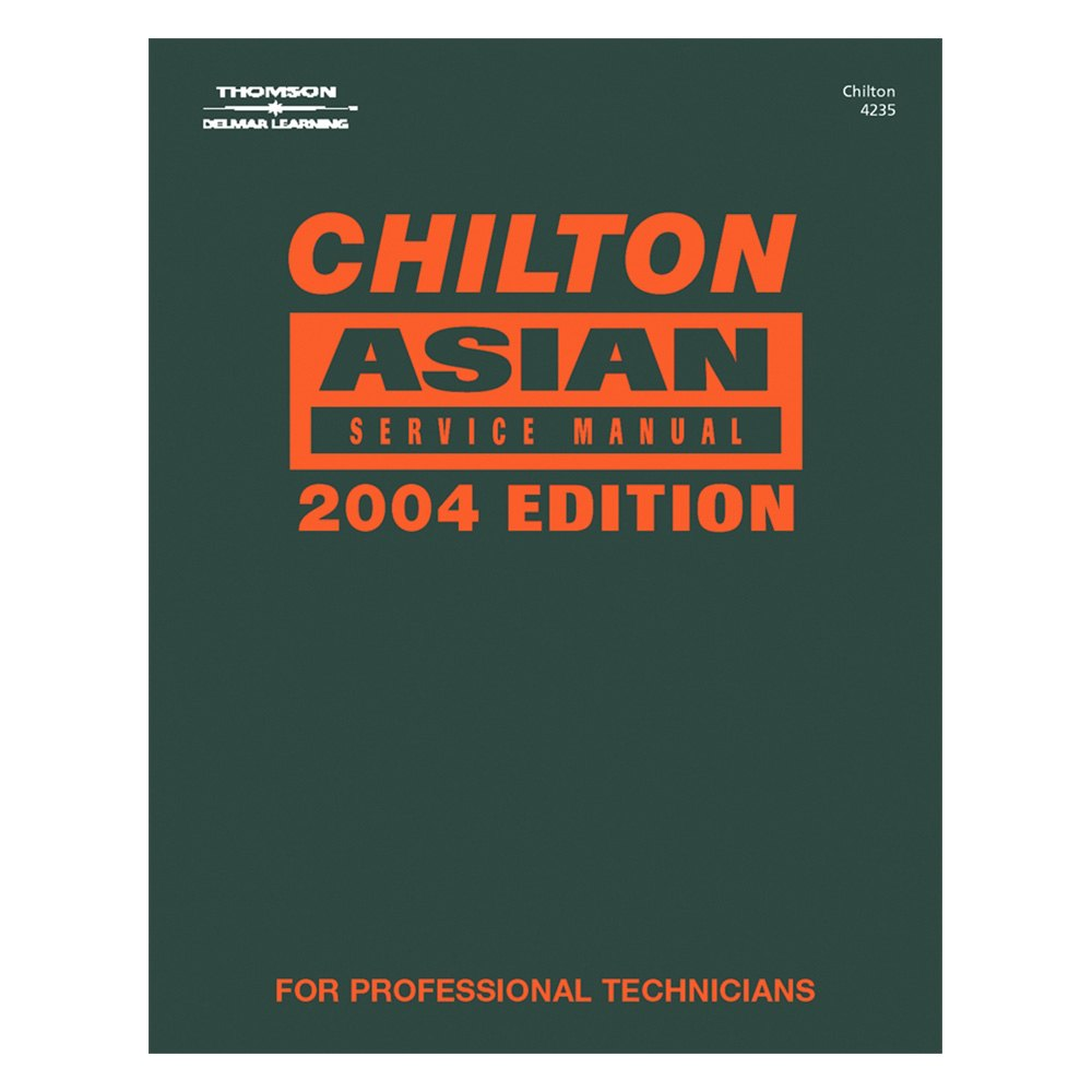 Chilton® - Service Manual for Asian Vehicles