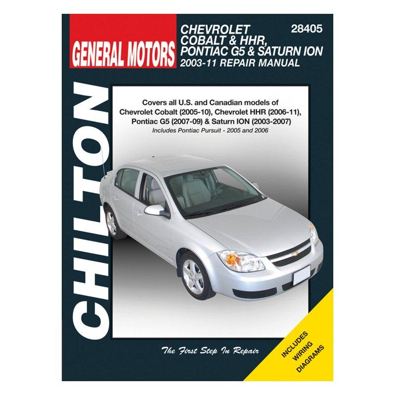 for chevy cobalt 2005 2010 chilton general motors cobalt g5 repair rh ebay com Chevy Cobalt Manual Transmission Problems Chevy Cobalt Manual Interior