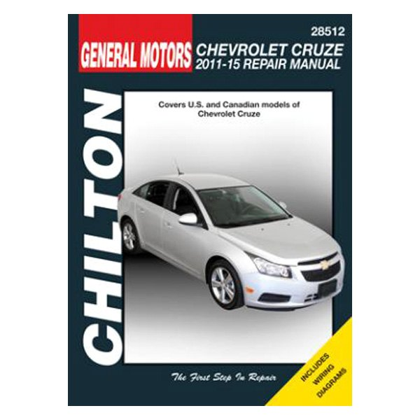 chilton 28512 general motors chevrolet cruze repair manual. Black Bedroom Furniture Sets. Home Design Ideas